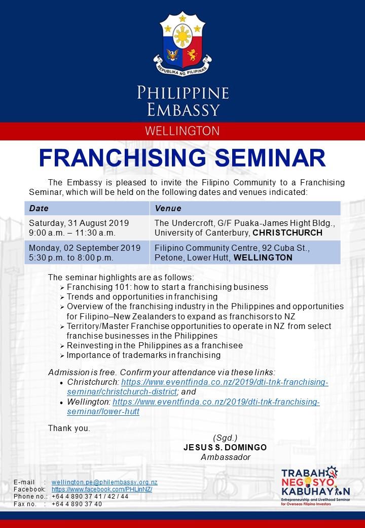 News | Philippine Embassy of Wellington New Zealand